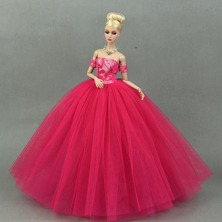 Den nya prinsessan för barbie dockklänning leksaker flickor - Dockor och tillbehör - Foto 6