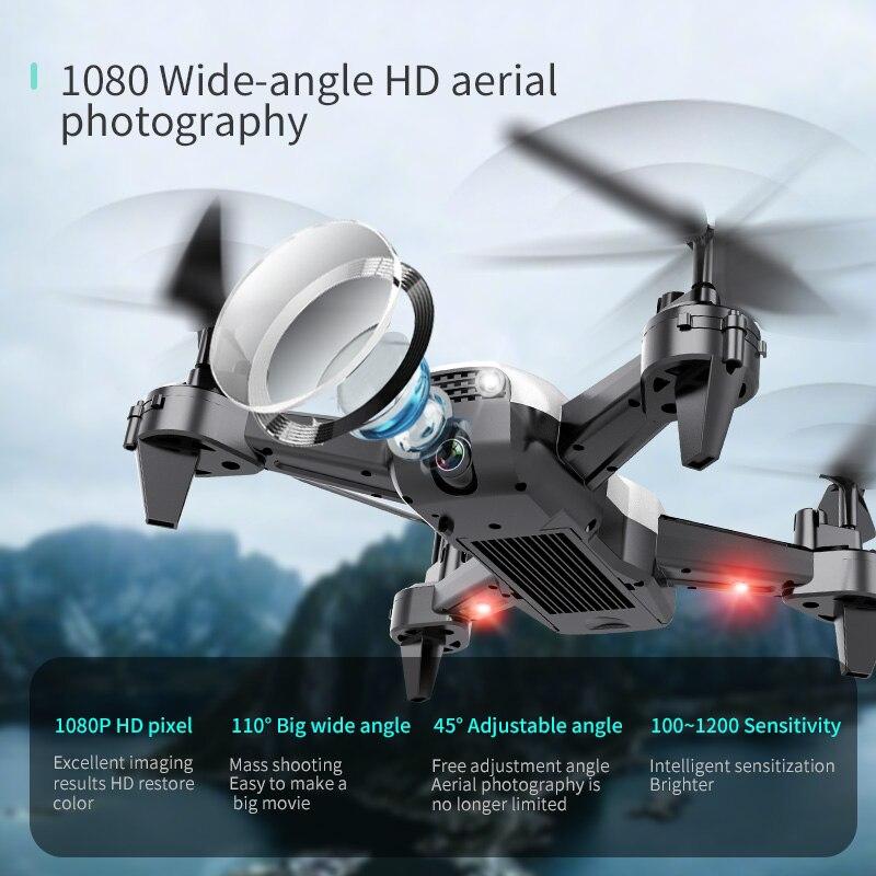 RC FPV WiFi Drone Mit 4K weitwinkel WiFi HD Kamera Höhe Halten 1080P RC Mini Quadcopter hubschrauber VS LF606 E58 M69 F11