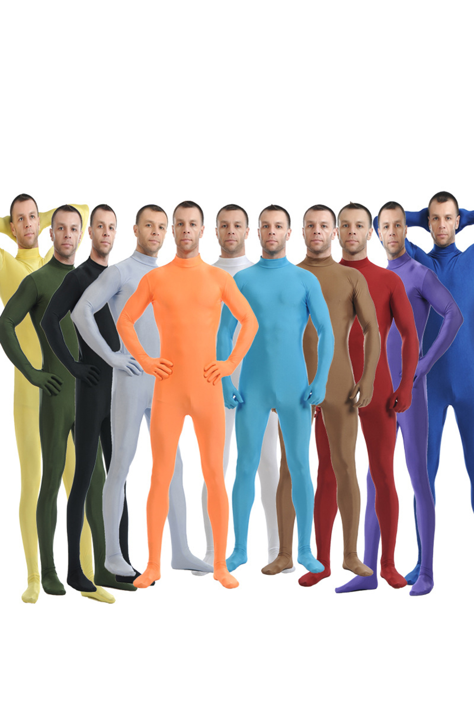 Zentai Suit Bodysuit Cosplay Costume Adult Second Skin Tight