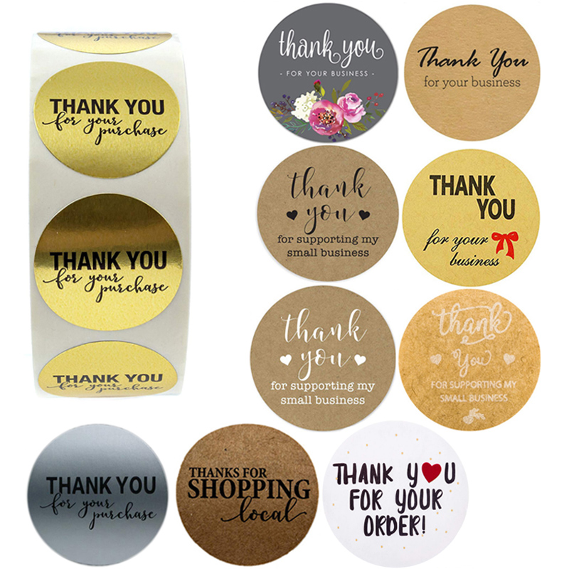 Thank You For Your Business Purchase Order Stickers Seal Labels Thanks For Shopping Supporting My Small Business Shipping Label