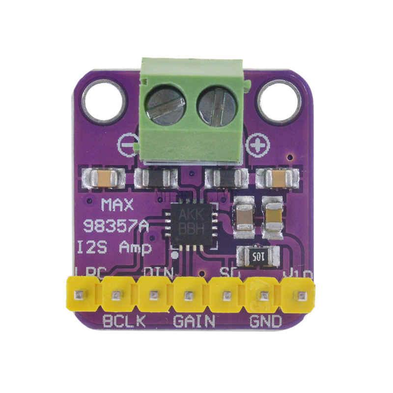 Max98357 I2S 3 ワットクラス D アンプブレークアウトインターフェースボード Dac デコーダモジュールフィルタレスオーディオボードラズベリーパイ Esp32