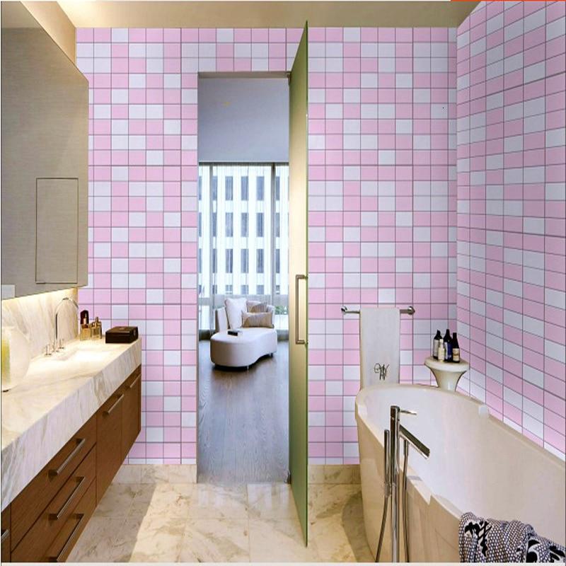 Peel And Stick Wallpaper For Bathroom Decor Kitchen Anti Oil 3d