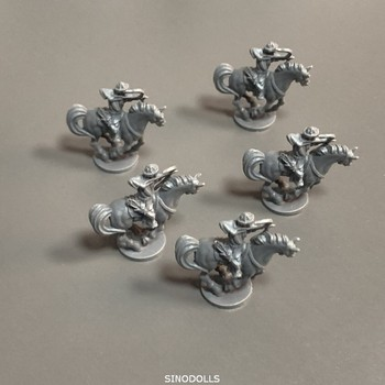 New 5pcs Knight Heroes Board Games Miniatures  Warsgame Role Playing Figures Toys Collection new 4pcs heroes board games nolzur s marvelous miniatures warsgame role playing figures pvc toys collection