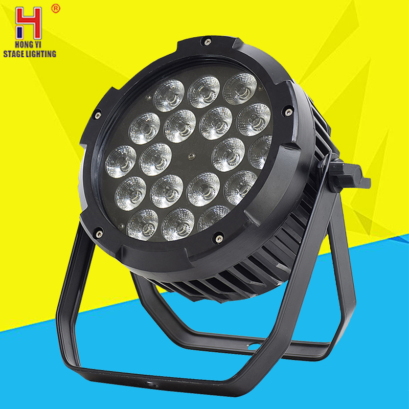 18x18W RGBWA + UV 6IN1 18X12W IP65 wasserdichte <font><b>led</b></font> <font><b>Par</b></font> Lichter, RGBW 4in1 <font><b>LED</b></font> <font><b>PAR</b></font> DMX control bühne DJ equipment disco lichter image