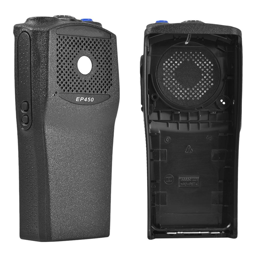 Front Cover For Motorola EP450 Walkie Talkie With Knob Shell