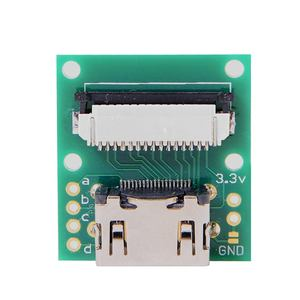 Image 4 - CYDZ Raspberry PI Camera Module to HDMI compatible Type A Male HDTV FPC Flat Cable 5cm fit for PES001