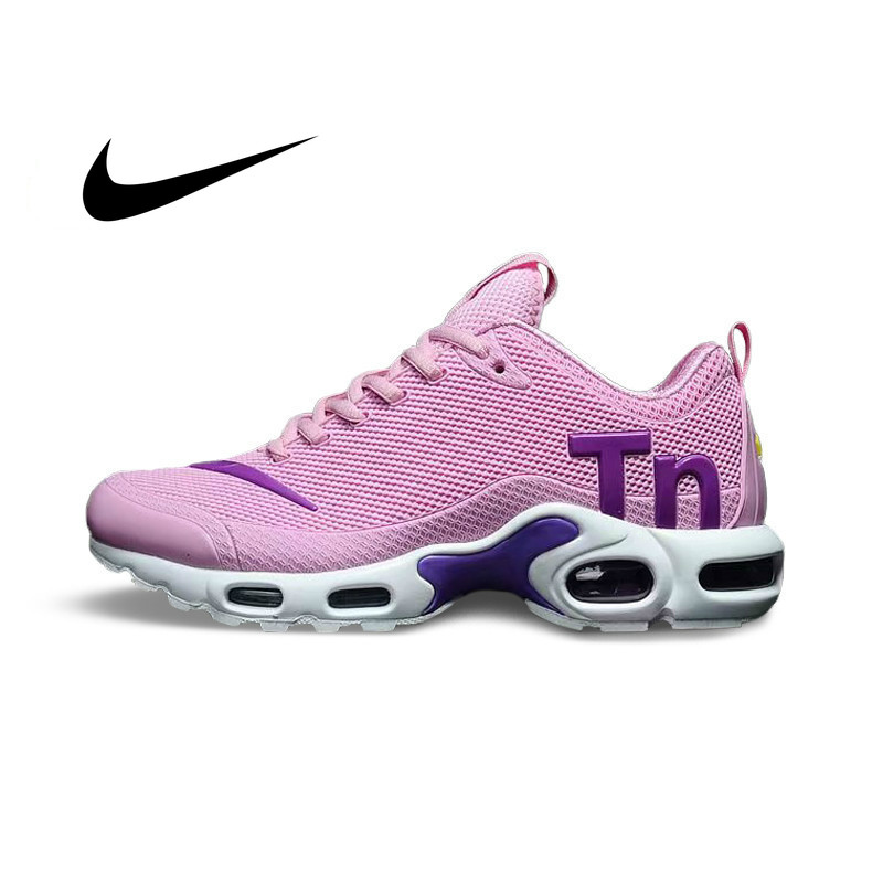 Original NIKE AIR MAX PLUS TN Women Running Shoes Non-slip Sports Lightweight Sports New Arrival Outdoor Sneakers 2019 New