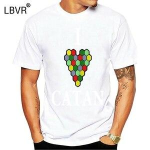 2019 t shirt 2019 Fashion men t-shirt 2019 Raspberry I Heart Catan mens T-shirts(China)