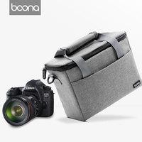 Fashion DSLR Camera Bag Waterproof Shoulder Bag Camera Case For Canon Nikon Sony Lens Pouch Camera Photographic Photo Bag