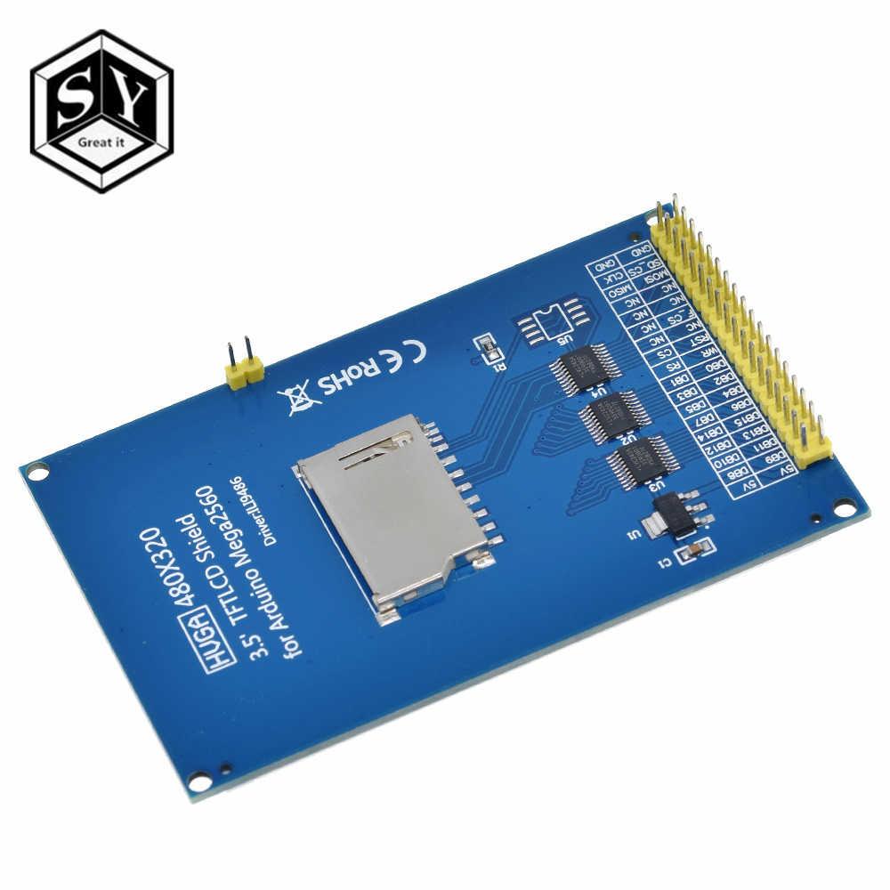 Besar Itu Layar TFT 3.5 Inci LCD Modul Ultra HD 320X480 UNTUK ARDUINO Mega 2560 R3 Papan