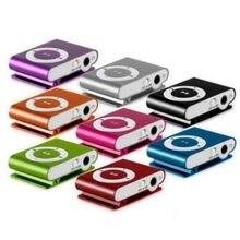 Leitor de mp3 mini clipe usb música media player suporte 1-8gb suporte sd tf portátil simples mp3 players moda o21