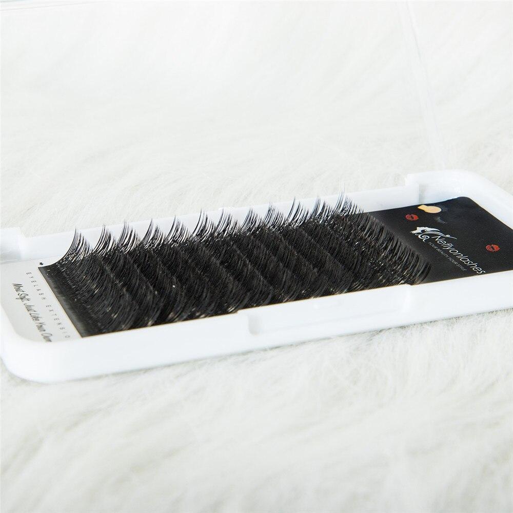 Neflyonlashes High Quality Faux Mink Y Shape Eyelash Extension Individual Volume False Eyelashes Soft Natural Lash Make Up Tools in False Eyelashes from Beauty Health