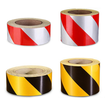 Safety Strong Adhesive Traction Tape Black Yellow PVC Warning Tape Stairs Floor Stickers Caution Mark Safety Remind