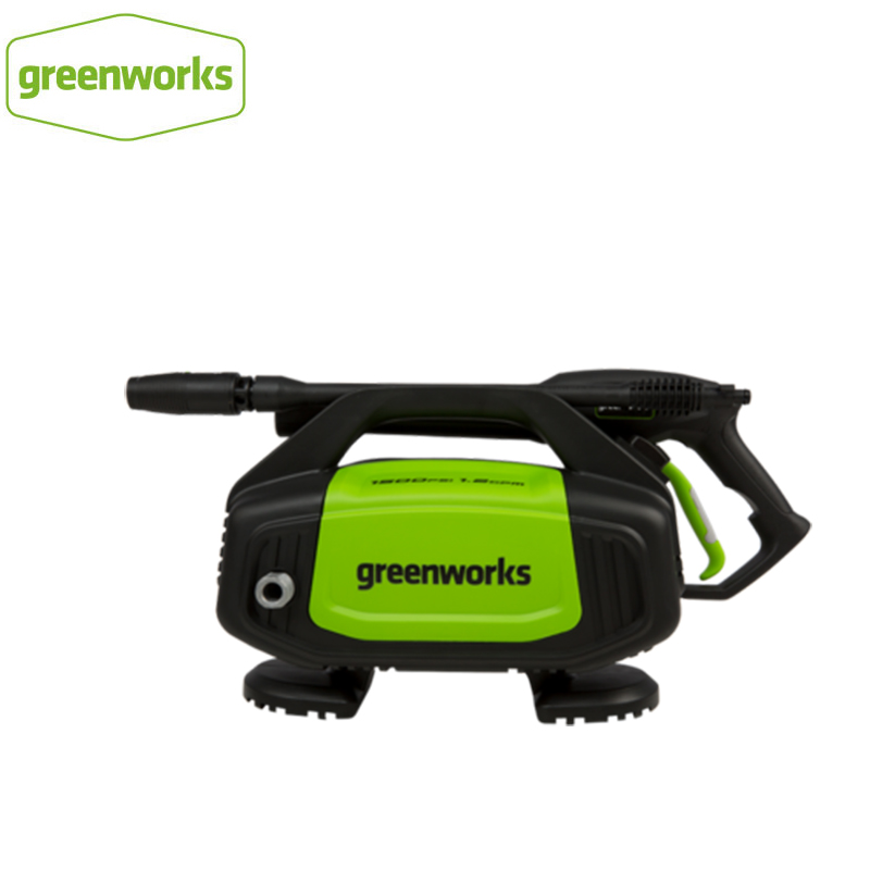Greenworks 220V 1300w Max 100 Bar 7.5LPM G10 High Pressure Washer 1.2GMP 1700PSI Electric Cleaner Car Washer With Hose Reel