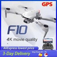 SHAREFUNBAY Neue F10 Drone 4k Profesional GPS Drohnen Mit Kamera Hd 4k Kameras Rc Hubschrauber 5G WiFi fpv Drohnen Quadcopter Spielzeug