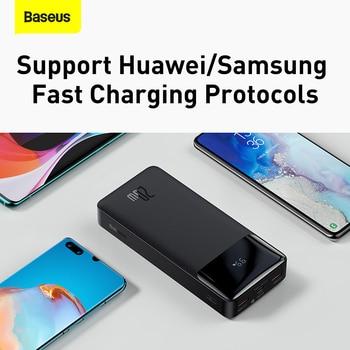 Внешний аккумулятор Baseus на 30000 мАч с поддержкой быстрой зарядки 4