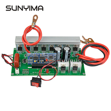SUNYIMA1PC Pure Sine Wave Power Frequency Inverter Board 12V 24V To AC220V Pure Sine Wave Booster Module 1000W цена и фото