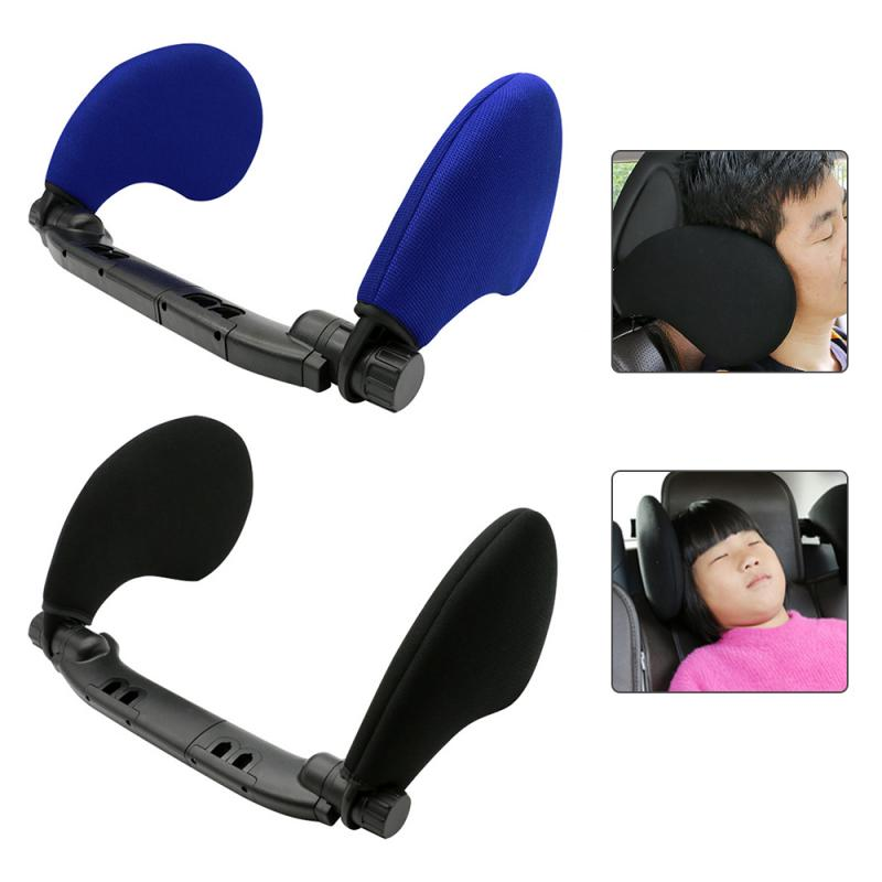 1 Pc Car Seat Headrest Travel Rest Neck Pillow Support Solution For Kids And Adults Children Auto Seat Head Cushion Car Pillow
