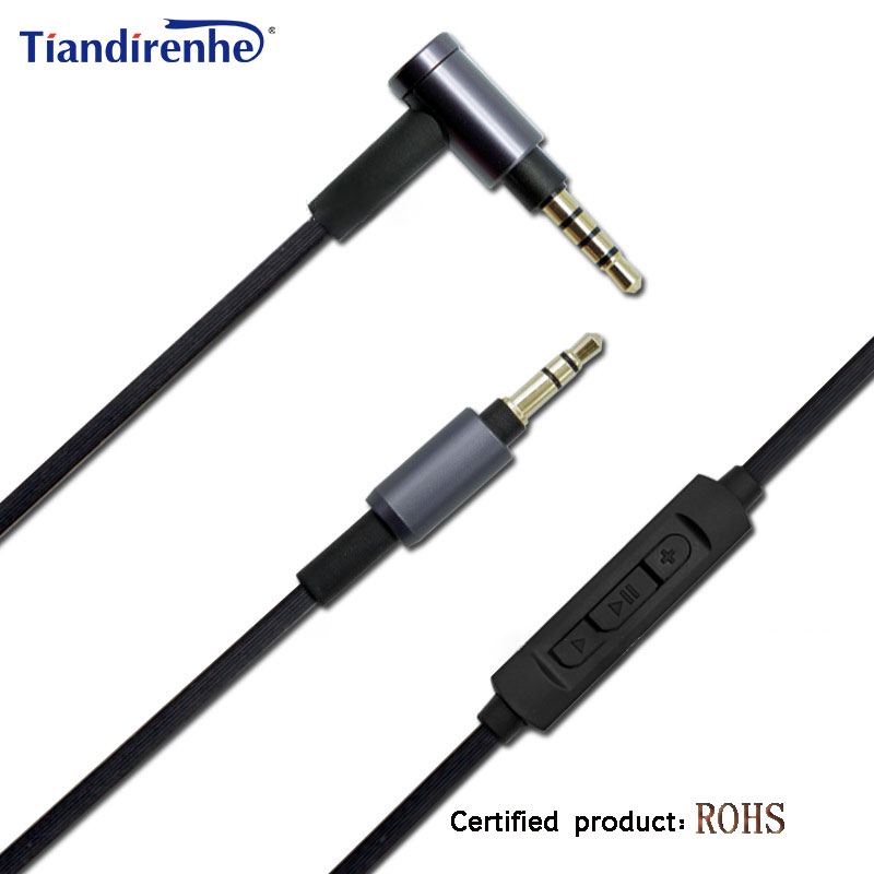 3.5mm to 3.5mm WH 1000XM3 Replacement Cord Headphone Audio Cable For Sony <font><b>MDR</b></font> <font><b>1000X</b></font> XB950BT10R 10RC 10RBT NC50 NC200D Headset image