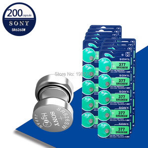 200pc Sony Original 377 SR626S