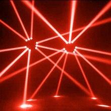 LED Light Beam Pinspot Light Spotlight 5W Super Bright Lamp Mirror Balls DJ Disco Stage Lighting Effect for KTV DJ Party