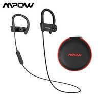 Mpow D9 Bluetooth 5,0 Kopfhörer Aptx Wireless Sport Kopfhörer Mit IPX7 Wasserdichte Noise Cancelling Mic 18H Spielzeit Für Lauf