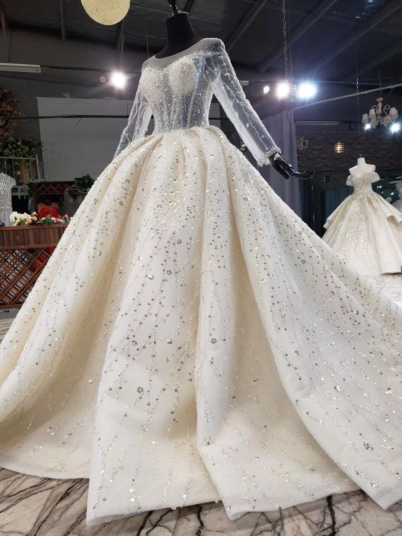 luxus ballkleid hochzeit kleider weg von der schulter blumen spitze  appliques robe de mariee vestido de noiva lace up zurück brautkleid
