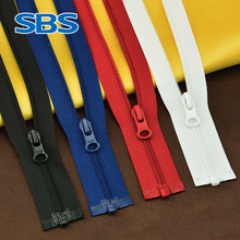 SBS nylon open zipper #3 long zipper windbreaker jacket zipper front garment nylon zipper Down jacket cotton jacket zipper