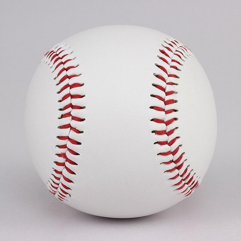 "9""PVC Rubber Soft Baseball Ball for Safety Kid and Men's Practice Team Game Hard Baseball Ball 1"