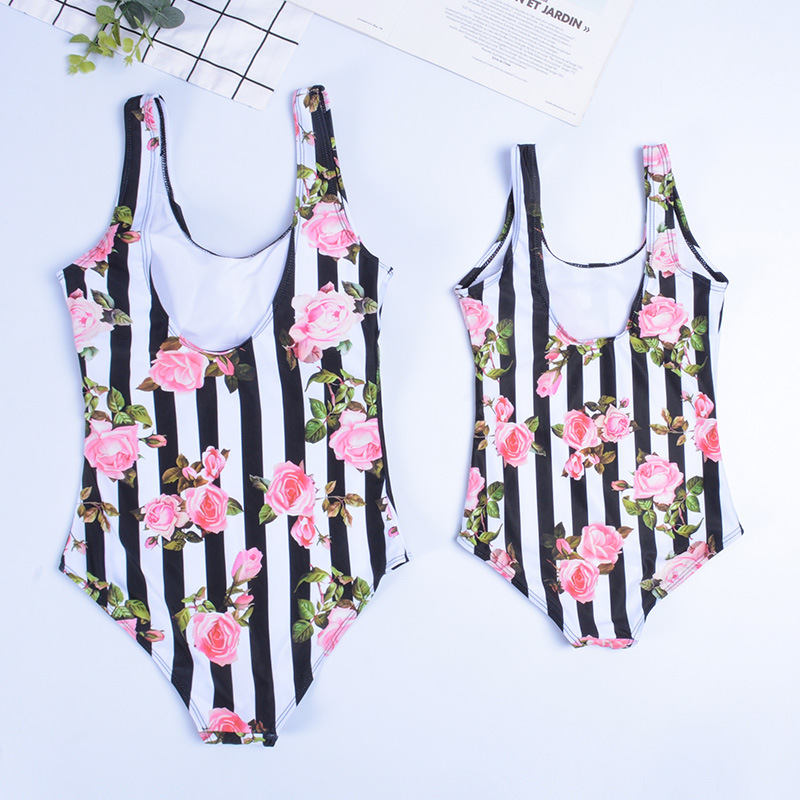 2019 New Style Children One-piece Women's Hot Selling Cute Cartoon Printed Bathing Suit