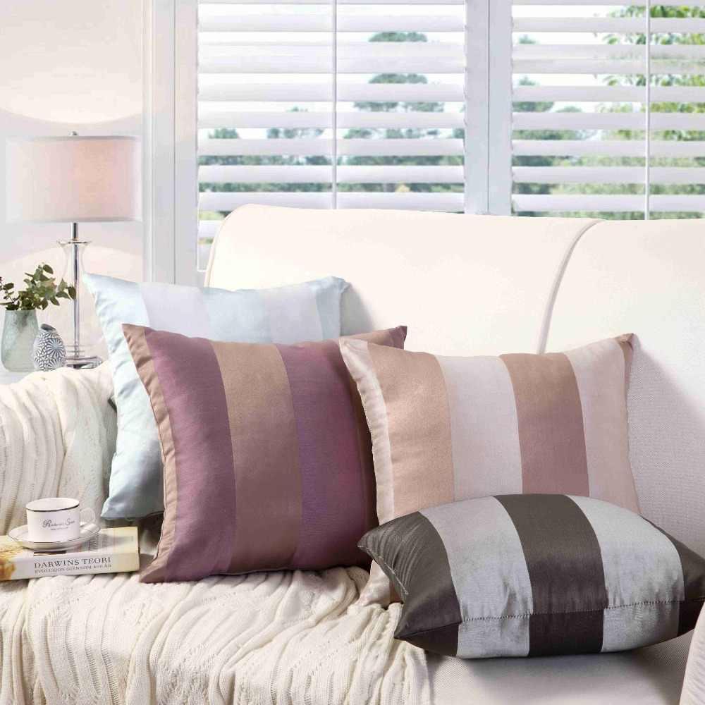 Baru Panas Nordic Sederhana Pencetakan Garis Geometri Bergaris Dicetak Bantal untuk Sofa Mobil Melempar Bantal Dekorasi Rumah Seni Cojin