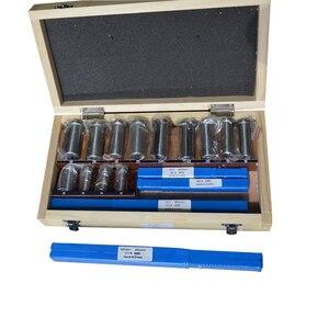 Image 1 - 22 sztuk Hss Groove wpustki zestaw tulei Shim zestaw metryczny System 12 30 HSS scyzoryk wpustowy do maszyny CNC