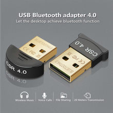 Wireless USB Bluetooth 4.0 Adattatore Dongle Bluetooth di Musica Ricevitore Audio Adapter Trasmettitore Bluetooth per il PC Del Computer Portatile Del Computer(China)