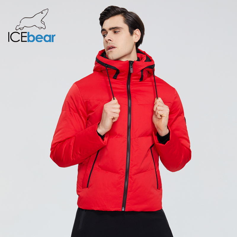 ICEbear 2019 New Winter Thick Warm Men's Jacket Stylish Casual Men's Coat Brand Clothing MWD19617I(China)