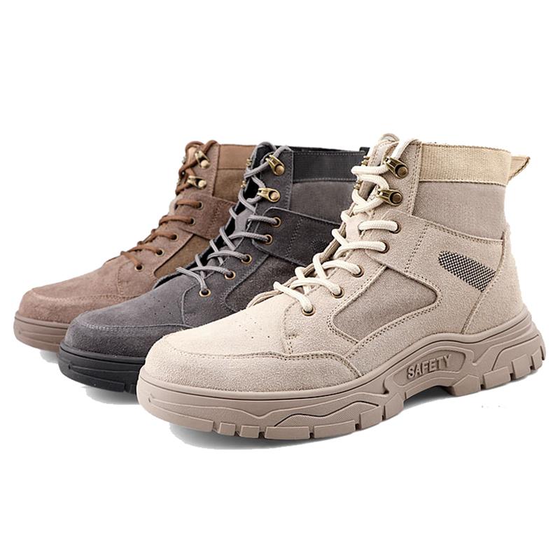 Work Safety Shoes Men For Martin Boots Indestructible Work Shoes Men Boots Safety Steel Toe Shoes Male Security Boots