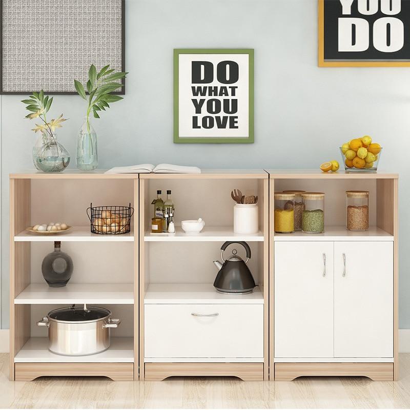 Sideboards Cabinet Living Room Tea Cabinet Multi-functional Minimalist Modern Entrance Side Cabinet Restaurant Free Combination