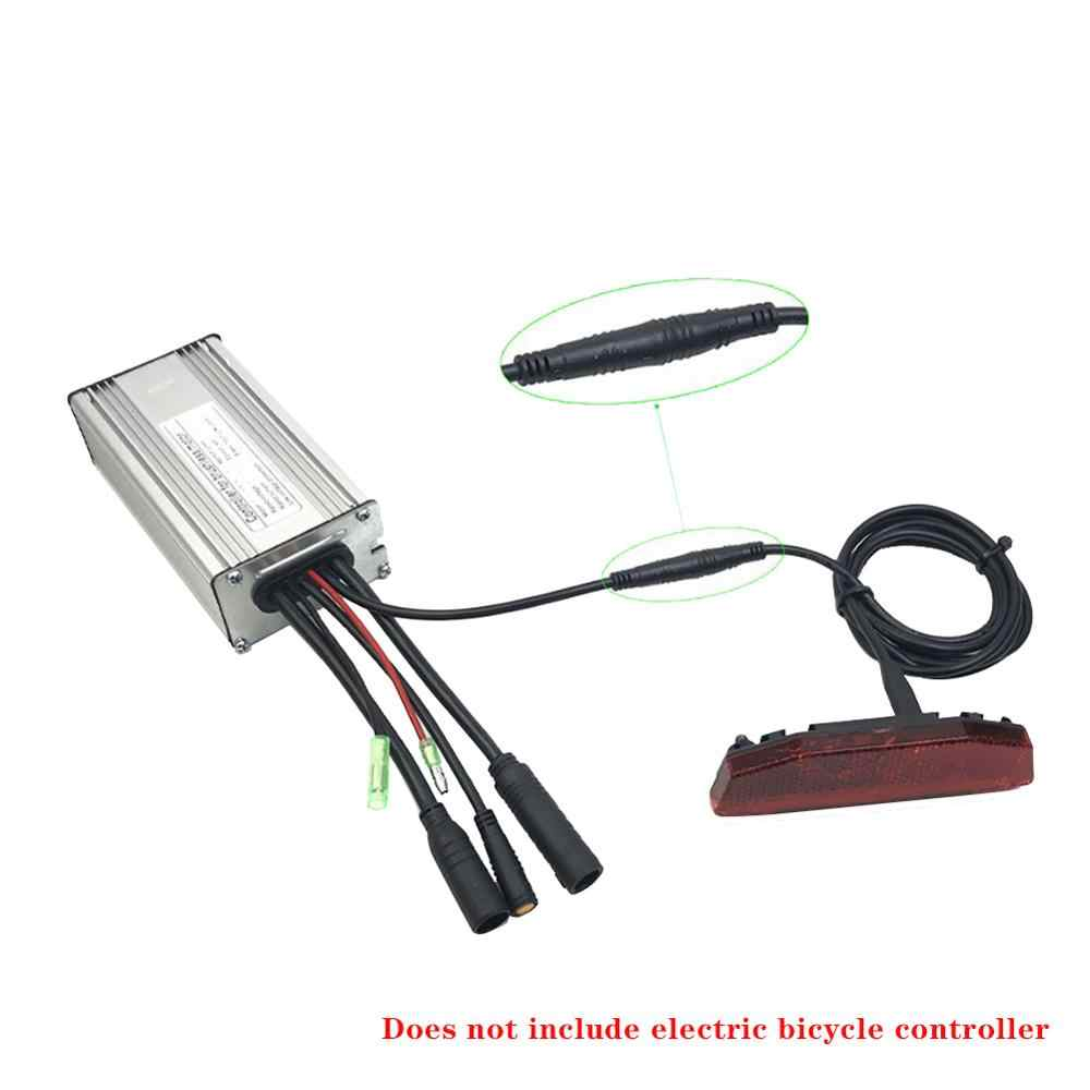 New 36V//48V E-Bike Light Tail Light LED Safety Warning Rear Lamp For E-Scooter