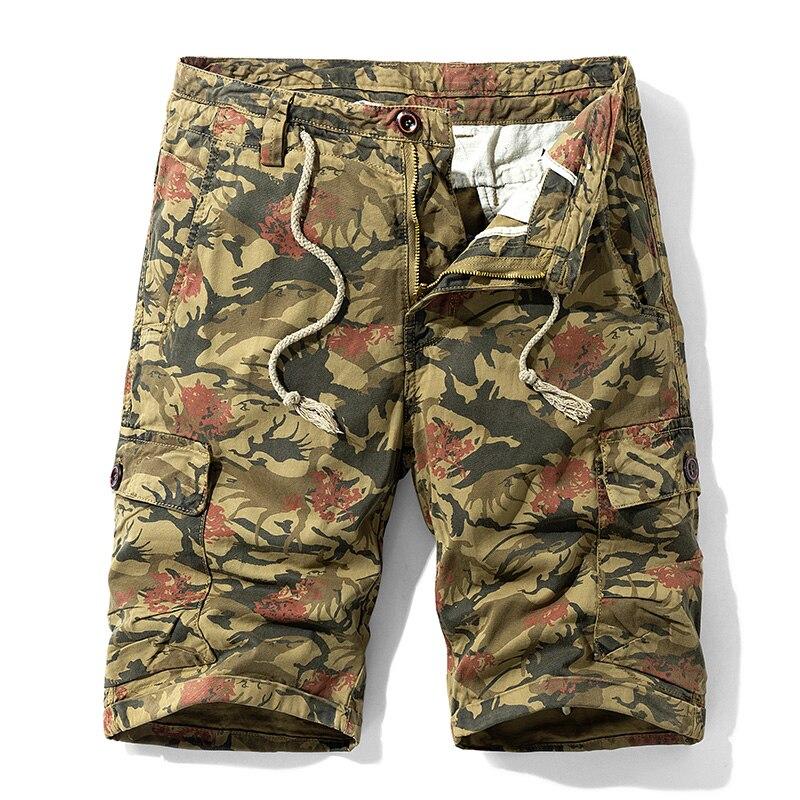 IiDossan Tooling Breeches Sweatpants 2020 New Cargo Shorts Men Summer Multi Pockets Work Shorts Man Military Casual Short Pants