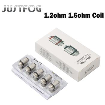 10 sztuk 20 sztuk lot JUSTFOG Q16 cewki 1 2ohm 1 6ohm C14 głowica cewki rdzeń dla Q16 Q14 P16A P14A Clearomizer C14 zbiornik Sub ohm tanie i dobre opinie Justfog Repacement Coil 1 2ohm 1 6ohm Justfog P14A P16A Q16 Kit