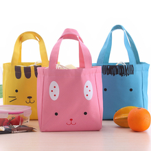 Portable Thermal Insulated Lunch Bag Food Storage Bag Lady Carry Food Lunch Box Bag For Student Outdoor Picnic все цены