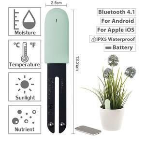 Image 2 - Newet YouPin Flower Monitor Plants Soil Water Light Smart Tester YouPin HHCC Flora Care Digital Plants Detect Sensor Garden
