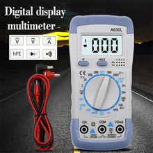 DT-830B LCD Digital Multimeter AC/DC 750/1000V Amp Volt Ohm Mini Multimeter probe For Voltmeter Ammeter Ohm Tester Meter dt 17n handheld digital multimeter lcd backlight manual portable auto range ad dc voltmeter ammeter ohm voltage test multimeter