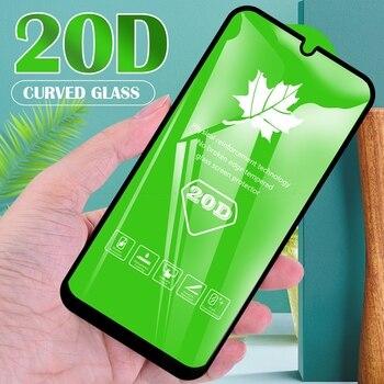 Перейти на Алиэкспресс и купить 20D Закаленное стекло протектор экрана для OPPO Find X2 Lite R15x R15 RX17 R17 Neo F15 F11 Pro Полное покрытие Защитная стеклянная пленка