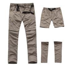 Мужские походные длинные брюки быстросохнущие тактические армейские брюки повседневные водонепроницаемые мужские прогулочные рыболовные брюки одежда