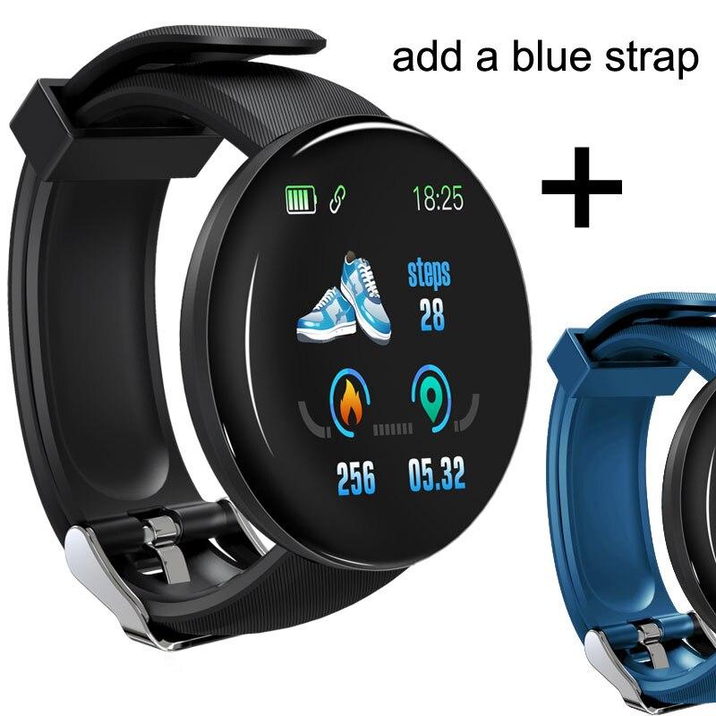 D18 add blue strap