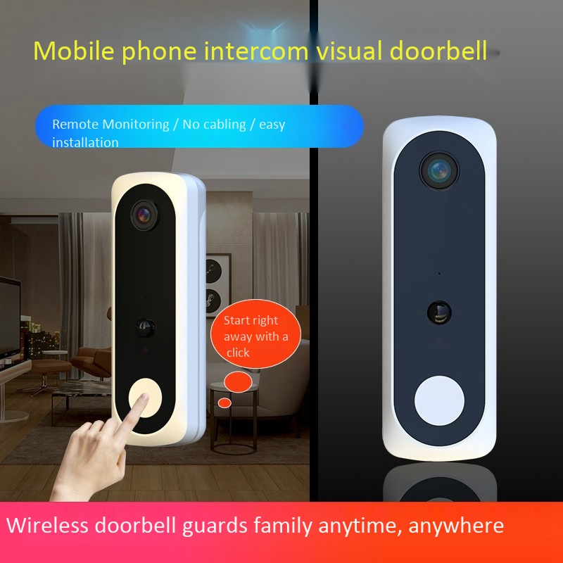 New V20 Smart WiFi Video Doorbell Camera Visual Intercom with Chime Night Vision IP Door Bell Wireless Home Security Camera|Doorbell| |  - title=