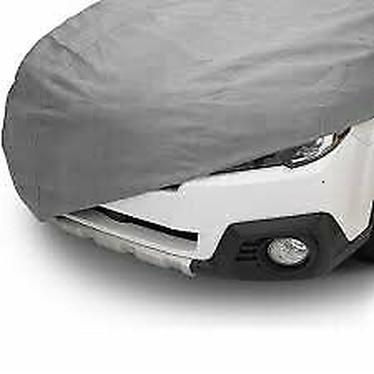 CAR COVER Funda Para Coche Fabricada En Peva Lona Resistente Tallas M,L, XL, XXL