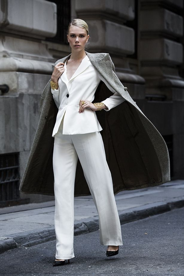 Custom Made Women Suits Suit For Women Business Office Workwear Outfit Spring Autumn