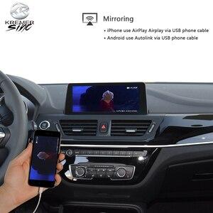 Image 4 - Drahtlose CarPlay Android auto Retrofit für BMW 1 2 3 4 5 7 X1 X3 X4 X5 X6 Mirroring Link google Assistent Airplay Siri Steuer