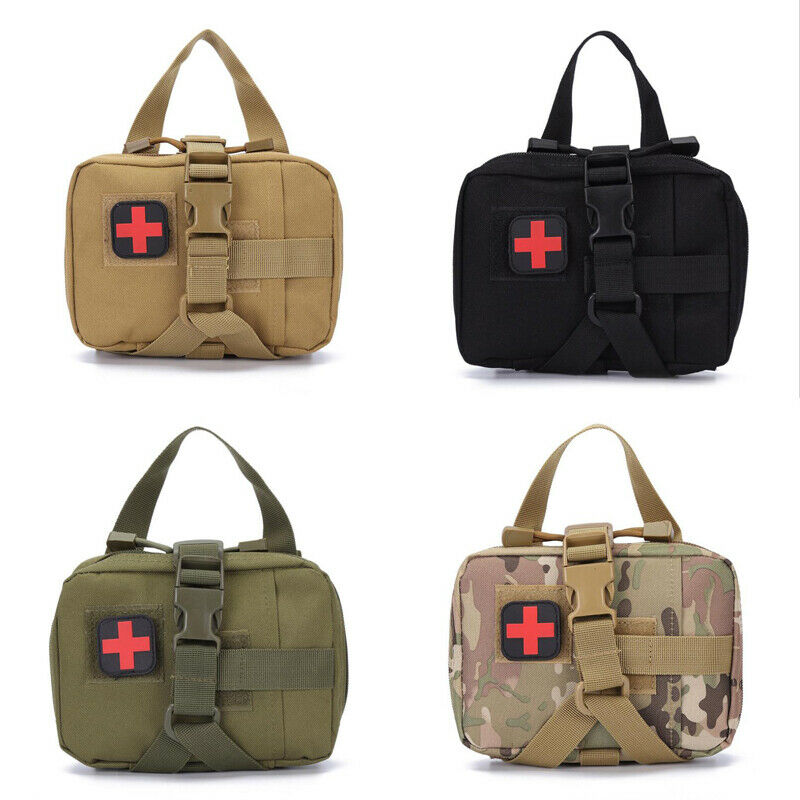 New Arrival First Aid Kit Tactical Medical Bag Totes Molle Emt Outdoor Emergency Survival Pouch Outdoor First Aid Kit Totes